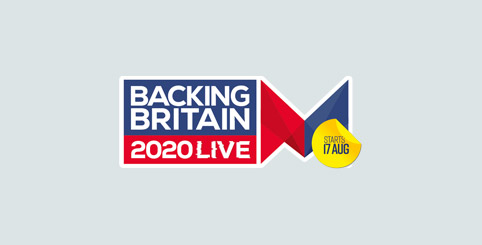 Backing Britain Live, 17-28 Aug 2020