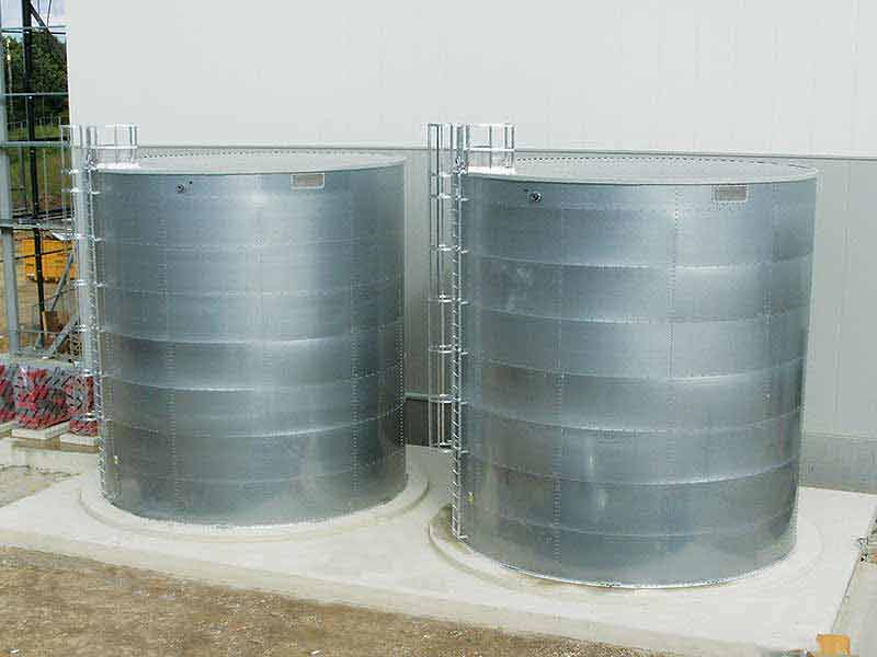 Balmoral cylindrical steel water tanks