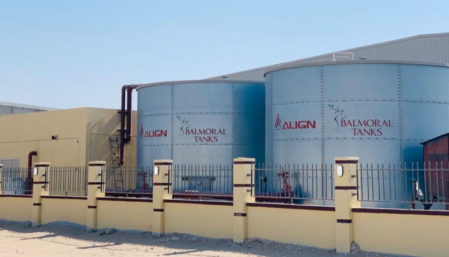 Balmoral fire water tanks achieve flying colour pass from DEWA