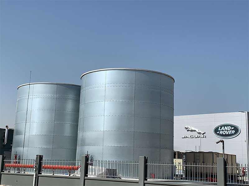 UAE Jaguar Land Rover plant specifies the ultimate in firefighting water storage