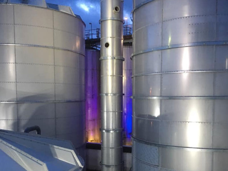 Brewery AD effluent treatment project