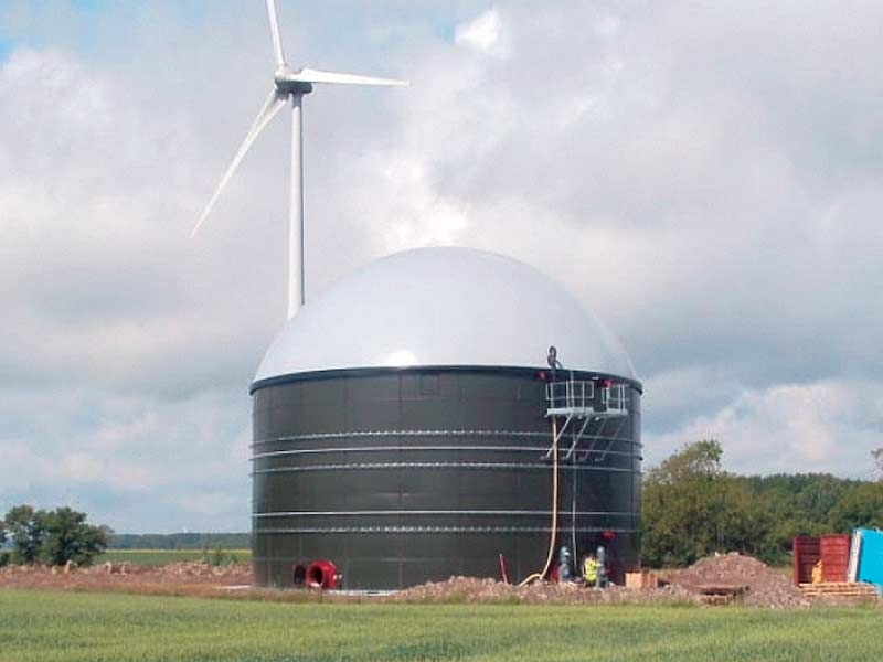 Agricultural biogas plant - Brålanda, Sweden