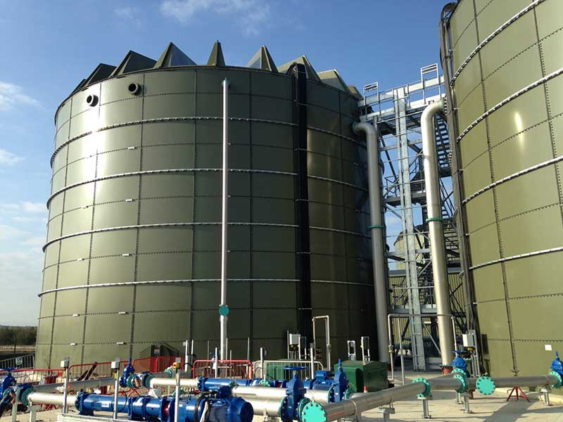 Knostrop anaerobic digestion facility