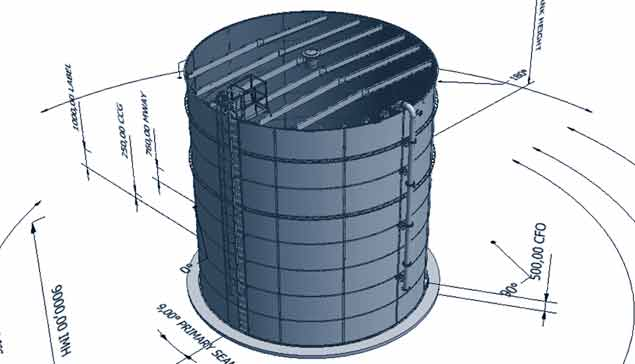 Automated 3D tank design system saves time and money