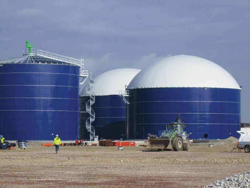 Balmoral epoxy coated steel tanks