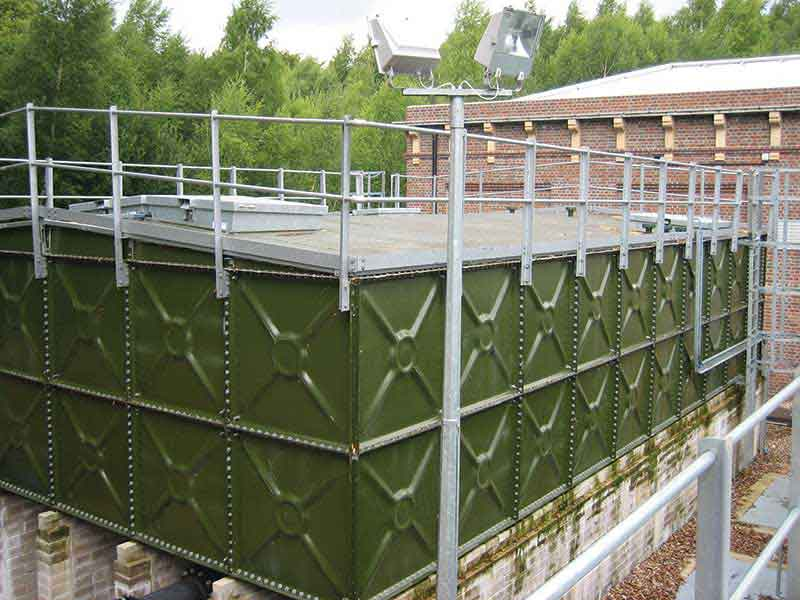 Balmoral steel sectional water storage tanks